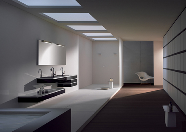 Contemporary Bathroom Interior Design With Minimalist Furniture Design